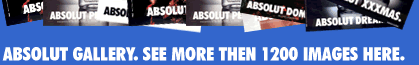 Absolut Vodka Advertising News and Gallery