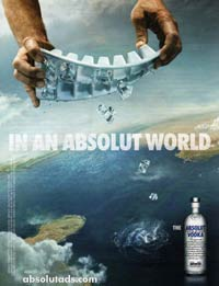 Absolut Vodka - Ice Cubes
