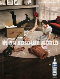 Absolut Vodka - Perfect Man