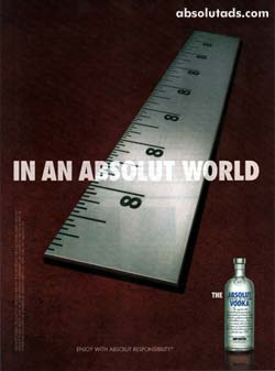 In an Absolut World 8 Inches